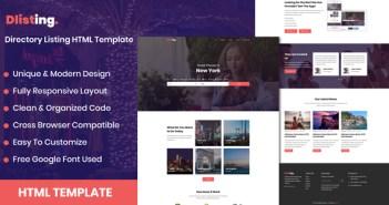 dListing - Plantilla HTML de listado de directorios