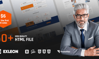 Exleon | La plantilla HTML5 multipropósito
