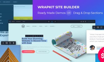 WrapKit con Page Builder
