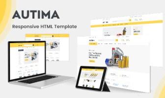 Autima - Plantilla HTML para un automóvil de accesorios