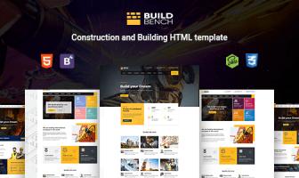 Buildbench - Construcción, Plantilla de HTML de construcción