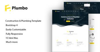 Plumbo - Plantilla HTML5 Responsive