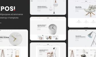 Eposi - Plantilla eCommerce Bootstrap 4