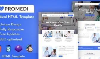 ProMedi - Plantilla HTML médica