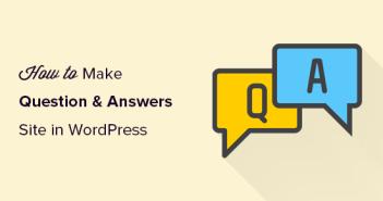 Haciendo un sitio de preguntas y respuestas en WordPress