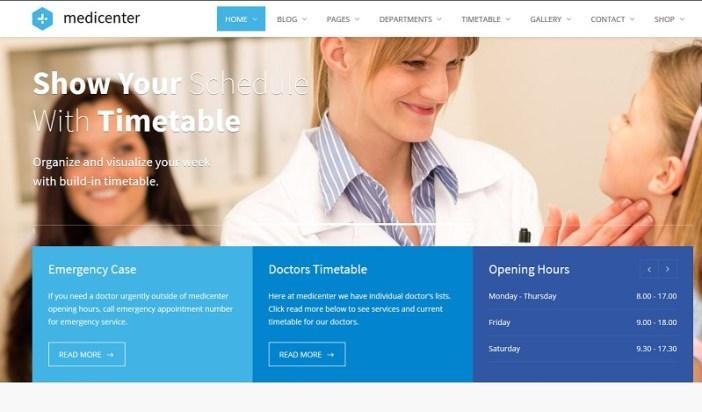 temas de wordpress para clinicas medicas