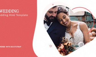 Foxewedding - Beautiful Couple Template