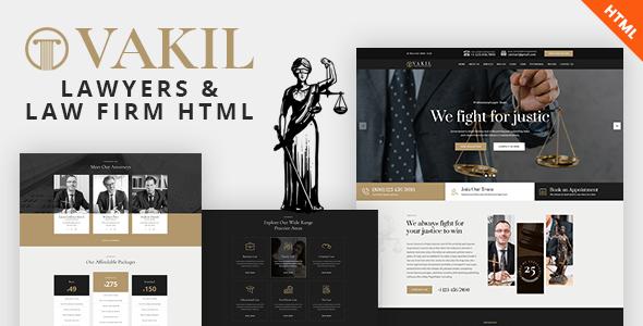 plantillas web para abogados
