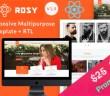 Rosy - Reactuar plantilla multipropósito + RTL compatible