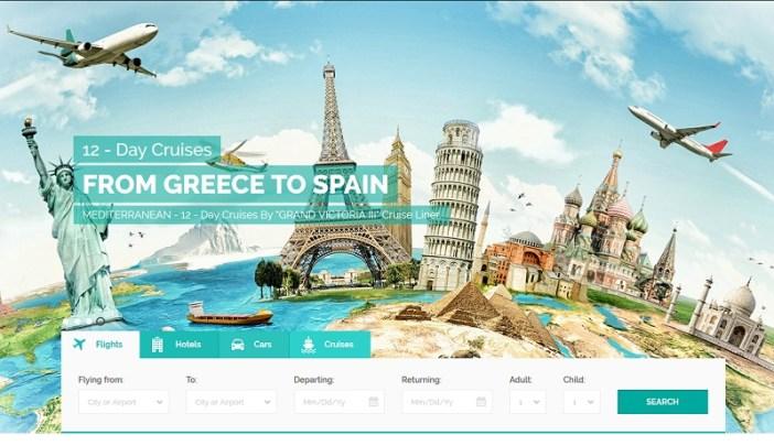 plantillas web para agencias de viajes