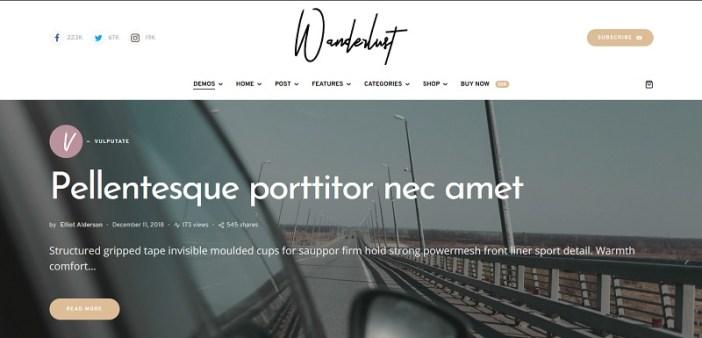 plantillas wordpress para magazines de viajes y turismo