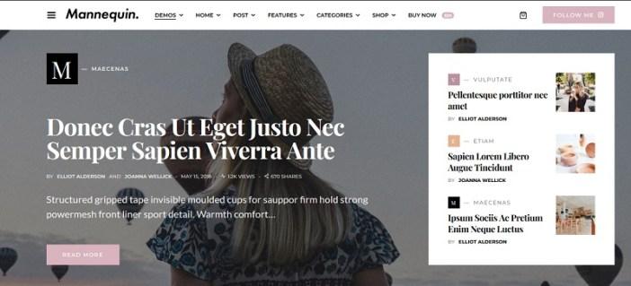 plantillas wordpress para revistas de mujeres femeninas
