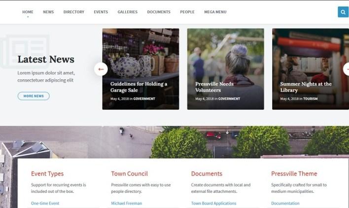 temas wordpress para municipios