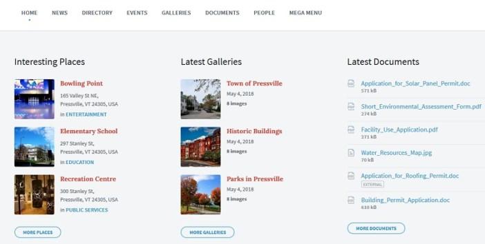temas wordpress municipalidades