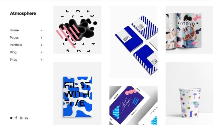 themes de wordpress artistas