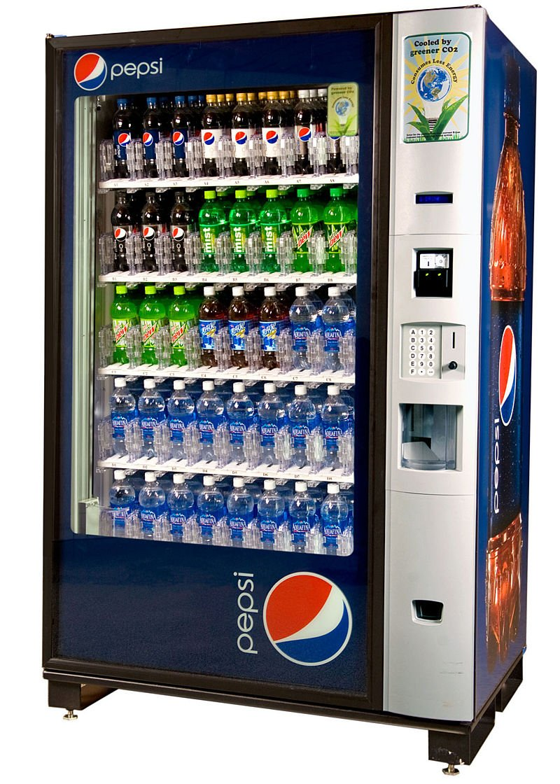 vending machine pepsi