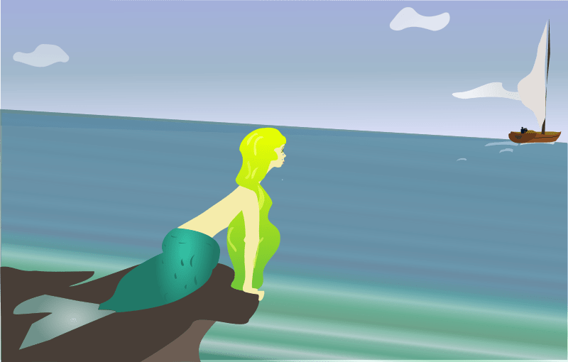 Free Mermaid Clipart And Animated Graphics