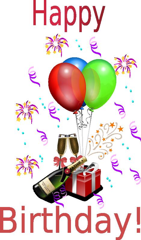 Free Birthday Clipart Animations Amp Vectors