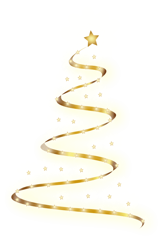 Christmas Tree Clipart - Free Holiday Graphics (530 x 800 Pixel)