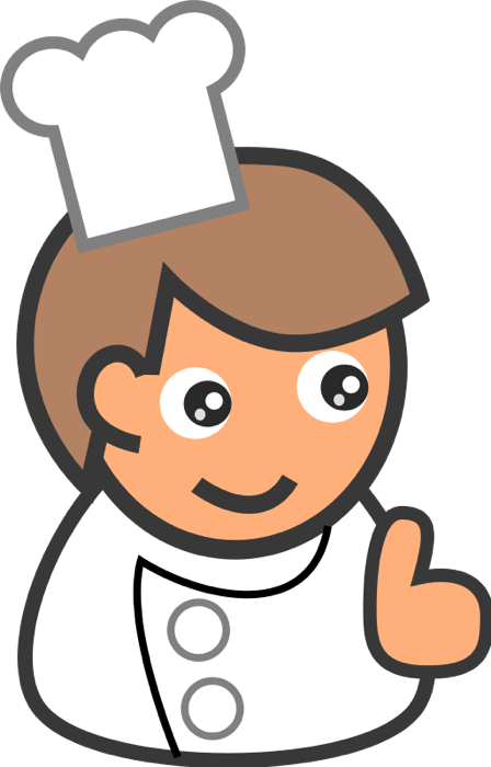 Free Chef Clipart Graphics Of Chefs Cooks Amp Bakers