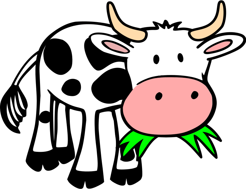 Cow Clipart Amp Animations Free Graphics Of Cows Amp Bulls