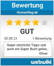 Bewertungen zu humanflag.de
