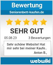 Bewertungen zu seniorenbett-kaufen.de