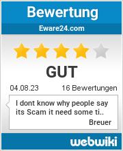 Bewertungen zu eware24.com