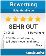 Bewertungen zu hobbyfamilie.de