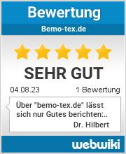 Bewertungen zu bemo-tex.de