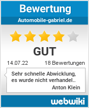 Bewertungen zu automobile-gabriel.de