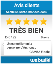 Avis clients de mutuelle-sante-monaco.com