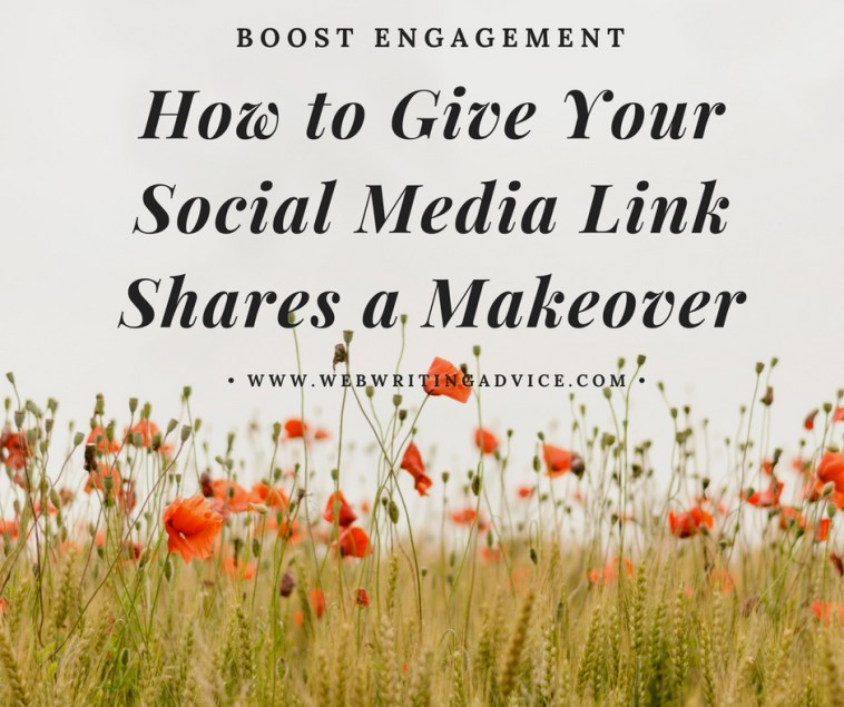 How to Give Your Social Media Link Shares a Makeover