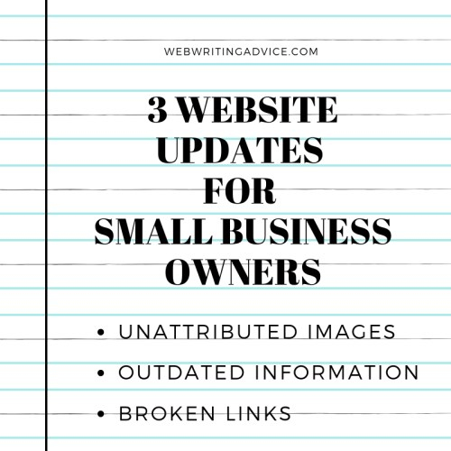 3 Website Updates for Small Business Owners