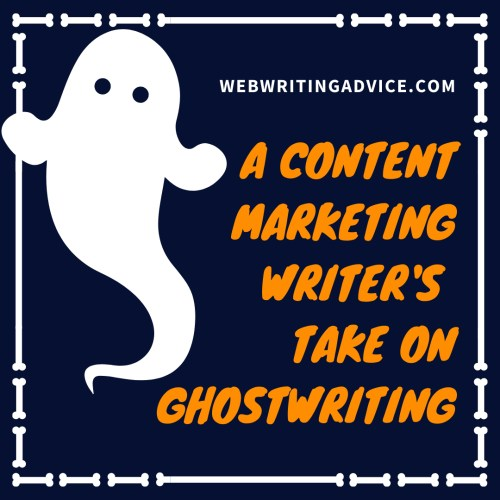 A Content Marketing Writer's Take on Ghostwriting