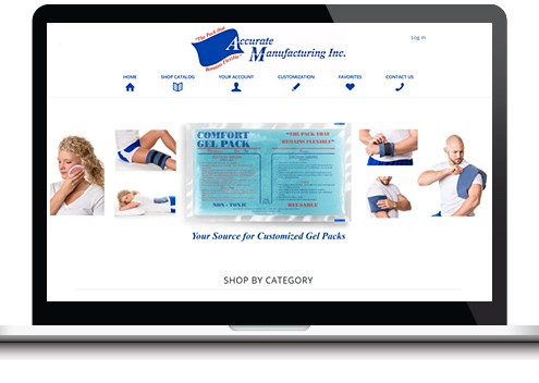 custom medical website design