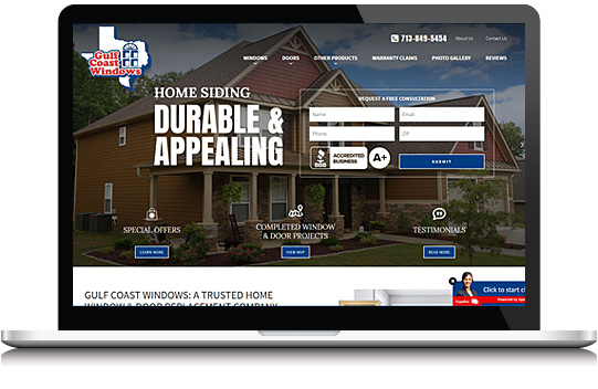 Door & Window Company Web Design