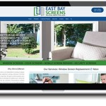 window door website design