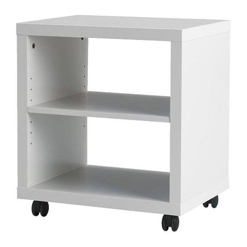 rrp 150 ikea corras entertainment unit printer tv av rack microwave stand bedside table wheels