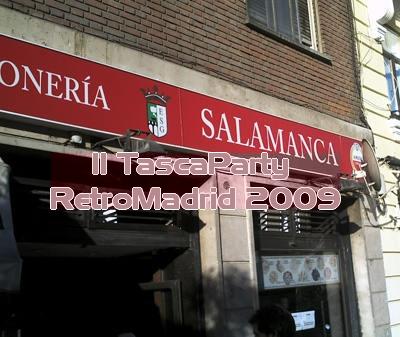 II TascaParty RetroMadrid 2009
