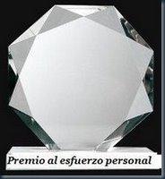 """Premio al """"esfuerzo personal"""""""