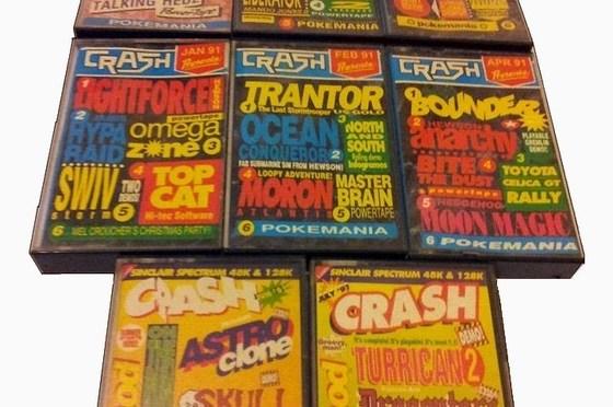 Cintas y Revistas: Crash