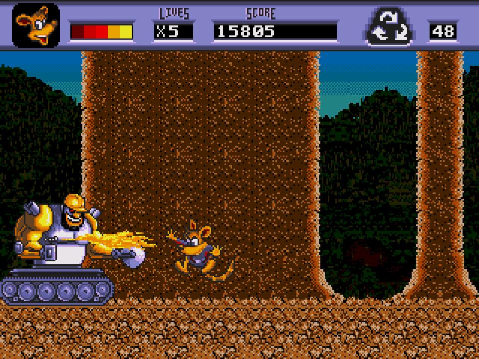 awesome possum kicks dr. machino's butt! (u) [!]003