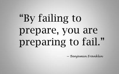 Prepare before building a website