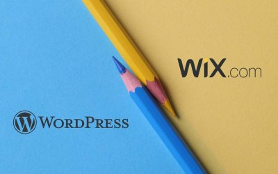 Wix and WordPress – Website builders vs CMS