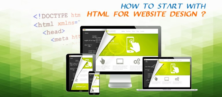 how-to-start-with-HTML-for -website-design