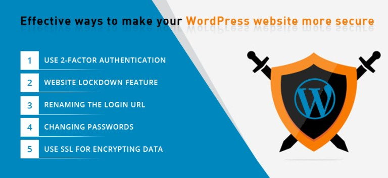 Effective ways to make your WordPress website more secure