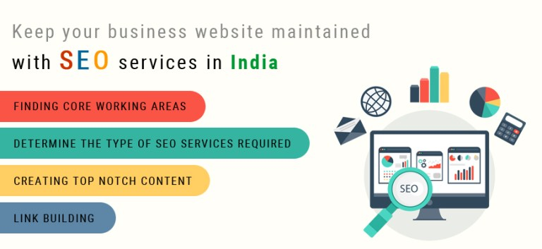 Keep your business website maintained with SEO services in India