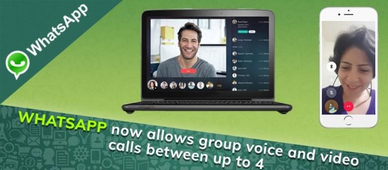 whatsapp group calls