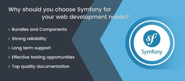 symfony for your web development